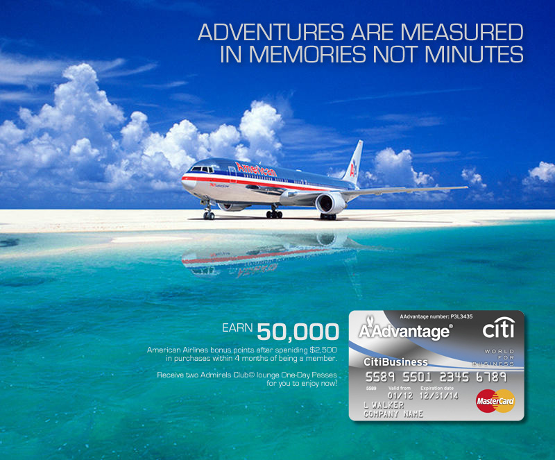 American Airlines AAdvantage Card - Adventure